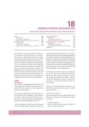 18. Farmacoterapia respiratoria
