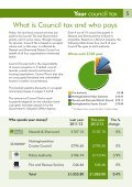 Council Tax Leaflet 2012-13.pdf - Newark and Sherwood District ... - Page 5
