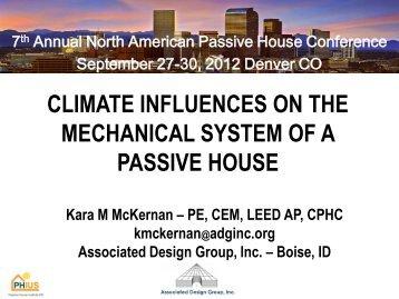 Kara McKernan - Passive House Institute US