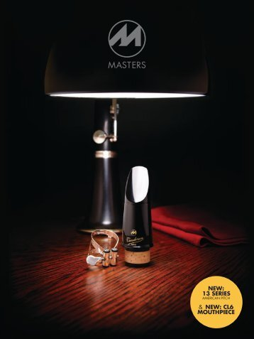 CL6 Masters mouthpiece for Bb clarinet - vandoren