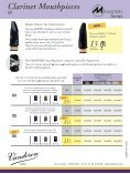 CL6 Masters mouthpiece for Bb clarinet - vandoren - Page 2