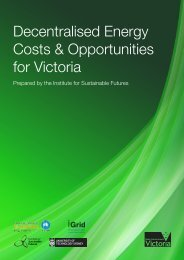 Decentralised Energy Costs Opportunities - Essential Services ...