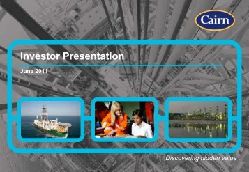 Investor Presentation - The Group