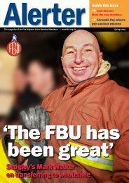 FBU Alerter • Spring 2009 - Fbu.me.uk