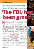 FBU Alerter • Spring 2009 - Fbu.me.uk - Page 6