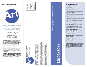 To Download A Pdf Of Our Birthday Party Main Line Art Center