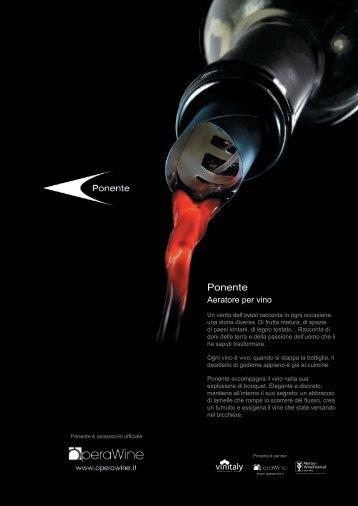 Brochure Ponente A4 Vin IT.pdf - Vini e Sapori