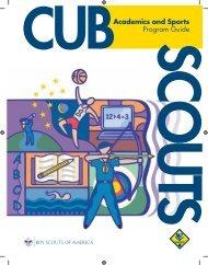 Cub Academics and Sports Program Guide