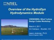 Overview Of The HydroDyn Hydrodynamics Module - NREL