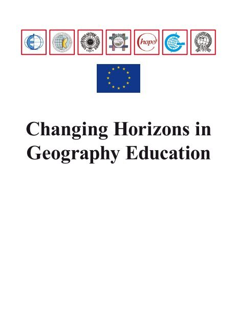Changing Horizons in Geography Education - HERODOT Network ...