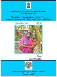 Darbhanga - STATE HEALTH SOCIETY-----BIHAR
