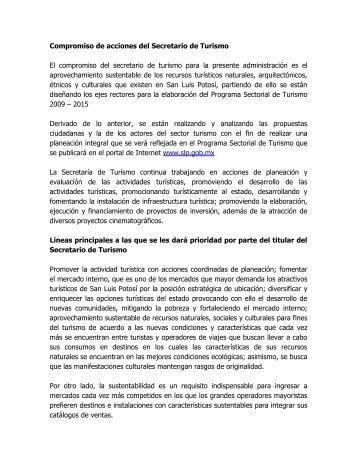 archivo - Secretaría de Turismo