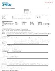 0294 SYSCO ACTION 3 APC,DISI... 1 / 2 - Sysco Canada