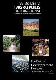 Sociétés et développement durable : apport des sciences sociales