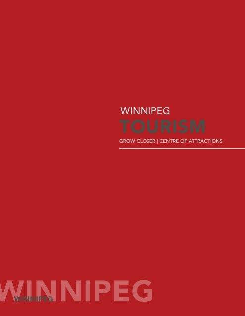 Tourism Sector Profile - Economic Development Winnipeg