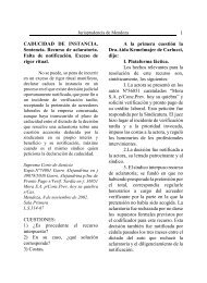 N° 65 - Poder Judicial de Mendoza - Gobierno de Mendoza