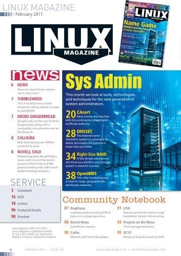 Sys Admin - Linux Magazine