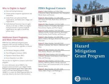 Hazard Mitigation Grant Program (HMGP)