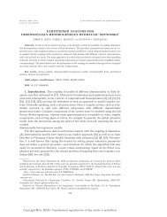 PARTITIONED ANALYSIS FOR DIMENSIONALLY ... - SIAM Journals