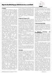 Allgemeine Geschäftsbedingungen Mobile ... - mr.net group