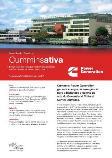 Queensland Cultural Center - Cummins Power Generation