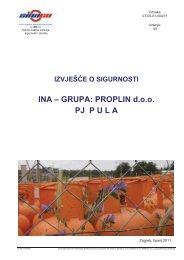 Izvješće o sigurnosti - Ministarstvo zaštite okoliša i prirode RH