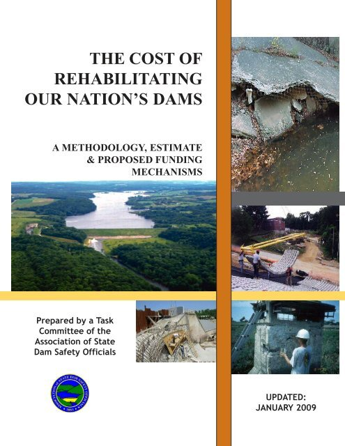 The Cost of Rehabilitating Our Nation's Dams. A Methodology ...