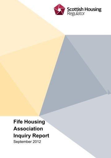 SHR Inquiry Report - Fife Housing Association