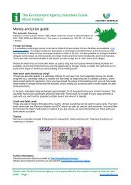 The Environment Agency Volunteer Guide About Iceland Money and ...
