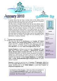 January 2010 – Lidcombe News Edition 36th - Montreal Fluency