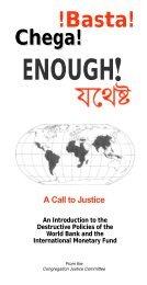 Basta! Chega! Enough! - Holy Cross International Justice Office