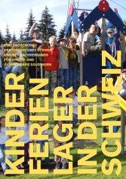 Broschüre als Ansichts-PDF - Kinderlobby Schweiz