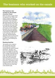 The boatmen who made the Iron Trunk Aqueduct - Canal & River Trust