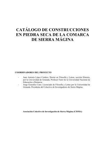 Introducción a la construcciones de piedra seca - Colectivo de ...