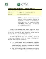 PROCESSO-CONSULTA CFM nº 8.036/11 – PARECER CFM nº 7 ...