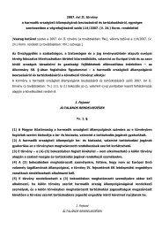 2007. évi II. törvény - Magyar Helsinki Bizottság