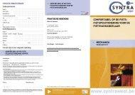 COMFORTABEL OP DE FIETS: FIETSPOSITIONERING VOOR DE ...