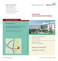 Flyer Einladung (PDF Download) - MediClin