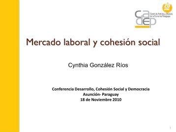 Mercado laboral y cohesión social
