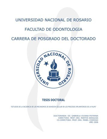 universidad nacional de rosario facultad de odontologia carrera de ...