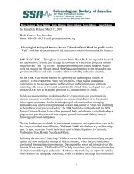 For Immediate Release: March 12, 2009 Media Contact: Nan ...