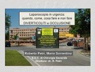 Diverticoliti e occlusione - Società Triveneta di Chirurgia