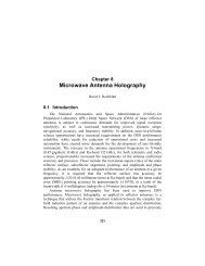 Microwave Antenna Holography - DESCANSO - NASA