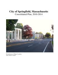 Consolidated Plan FinaL 2010-2014 - City of Springfield