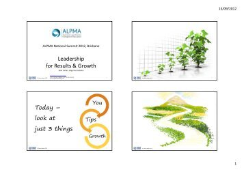 Leadership for Results & Growth Today - Legal Leaders Blog