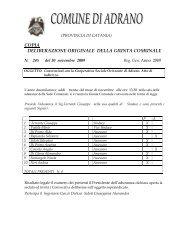 delgm.245 - Comune di Adrano