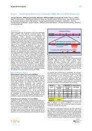 Wissenschaftliche Projektbeschreibung für die NGFN-Broschüre 2005