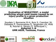 Evaluation of WHEATPEST, a model predicting wheat yield losses ...