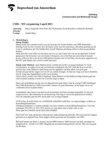 2013-04-02-CMD-MT-verslag.pdf - Intranet