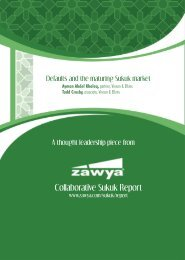 Defaults and the maturing Sukuk market - Vinson & Elkins LLP
